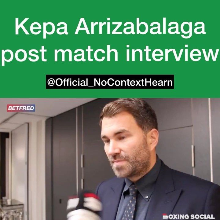 Surely Thats It For Kepa Arrizabalaga Nocontexthearn Nocontext Eddiehearn Hearn Boxing Boxeo Lol Fights Fight Meme Memes Britishmemes Funnymemes In 2020