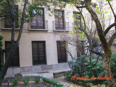 jardín interior de la Casa de Lope de Vega http://elpaisajedemadrid.blogspot.com.es/