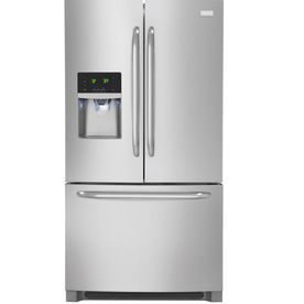 Frigidaire 26 7 Cu Ft French Door Refrigerator With Single