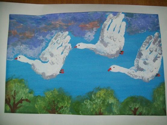 Рисование ладошками и пальчиками. - Для воспитателей детских садов - Маам.ру