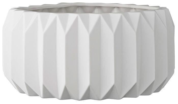 Trenton Fluted Round Pot Planter
