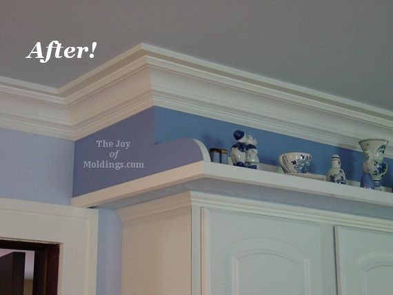 1000 Ideas About Crown Molding Installation On Pinterest