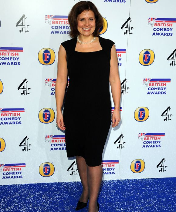 Best Actress Rebecca Front represents The Thick Of It at the British Comedy Awards