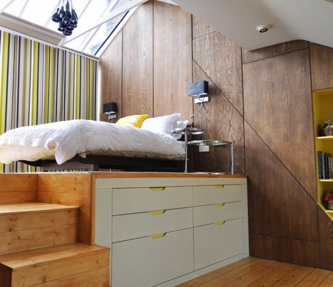 20 cool space saving furniture designs for your home - Bedroom Furniture Small Spaces