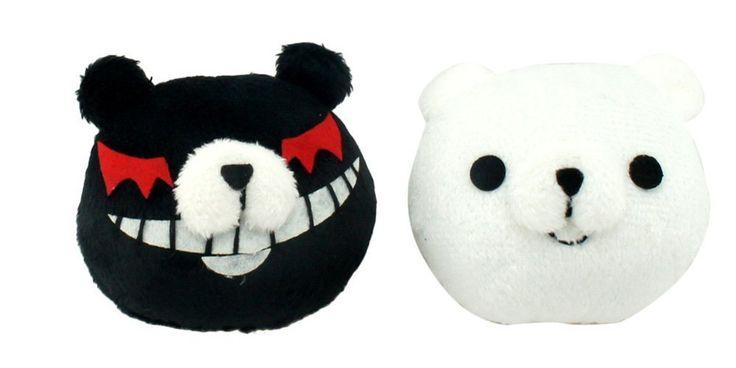 Japanese anime Super Dangan Ronpa Enoshima Junko Monokuma & Monomi Handmade Hair Accessories  customize
