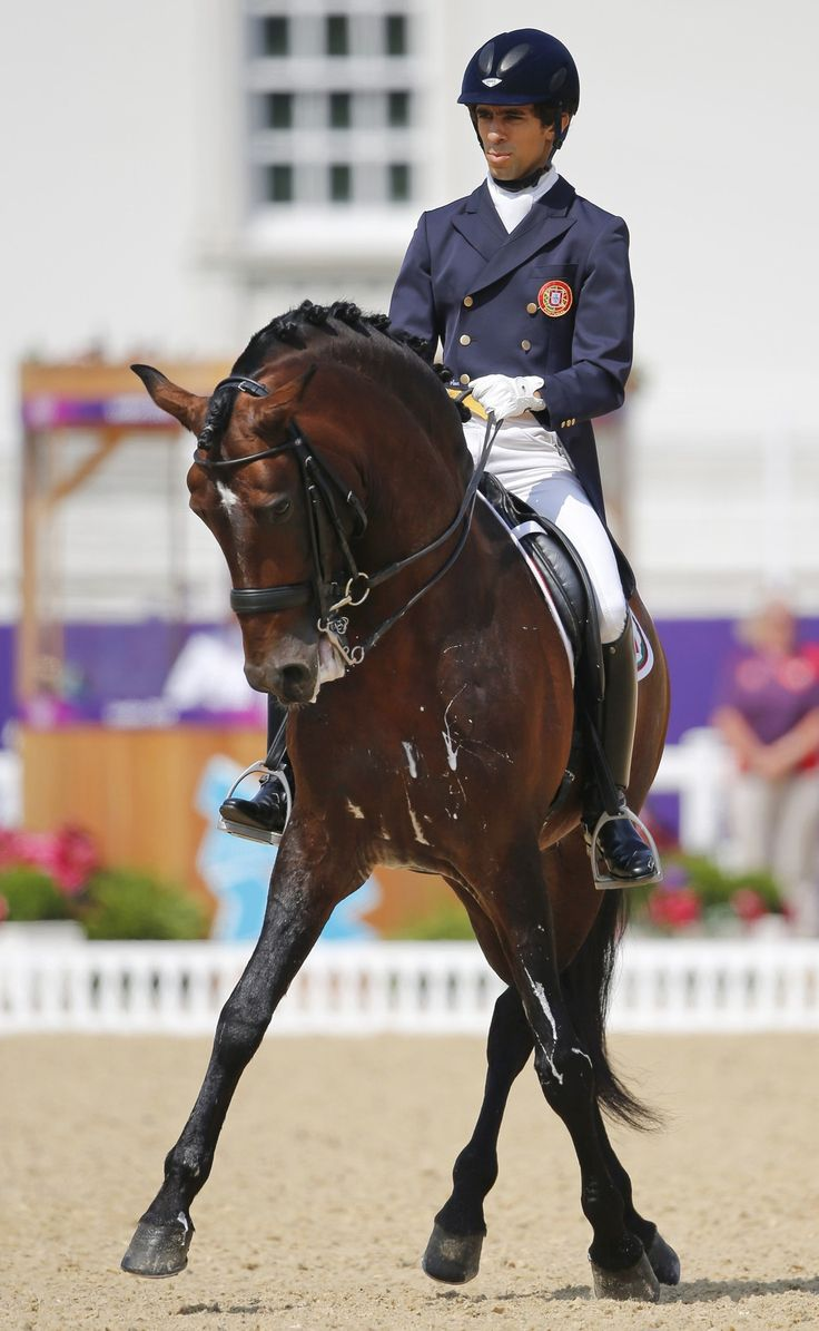 Goncalo Carvalho - Portuguese Dressage Rider at London Olympics. Amazing www.equestrianperformance.co.uk