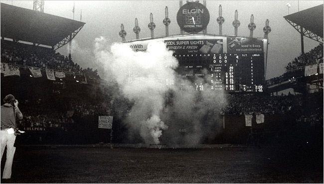 Comiskey Park Disco Demolition July 1979
