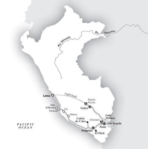 2 weeks Lima, Cuzco, & MAchu PIcchu