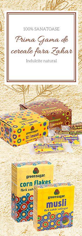 Cereale fără zahăr! De la Green Sugar!