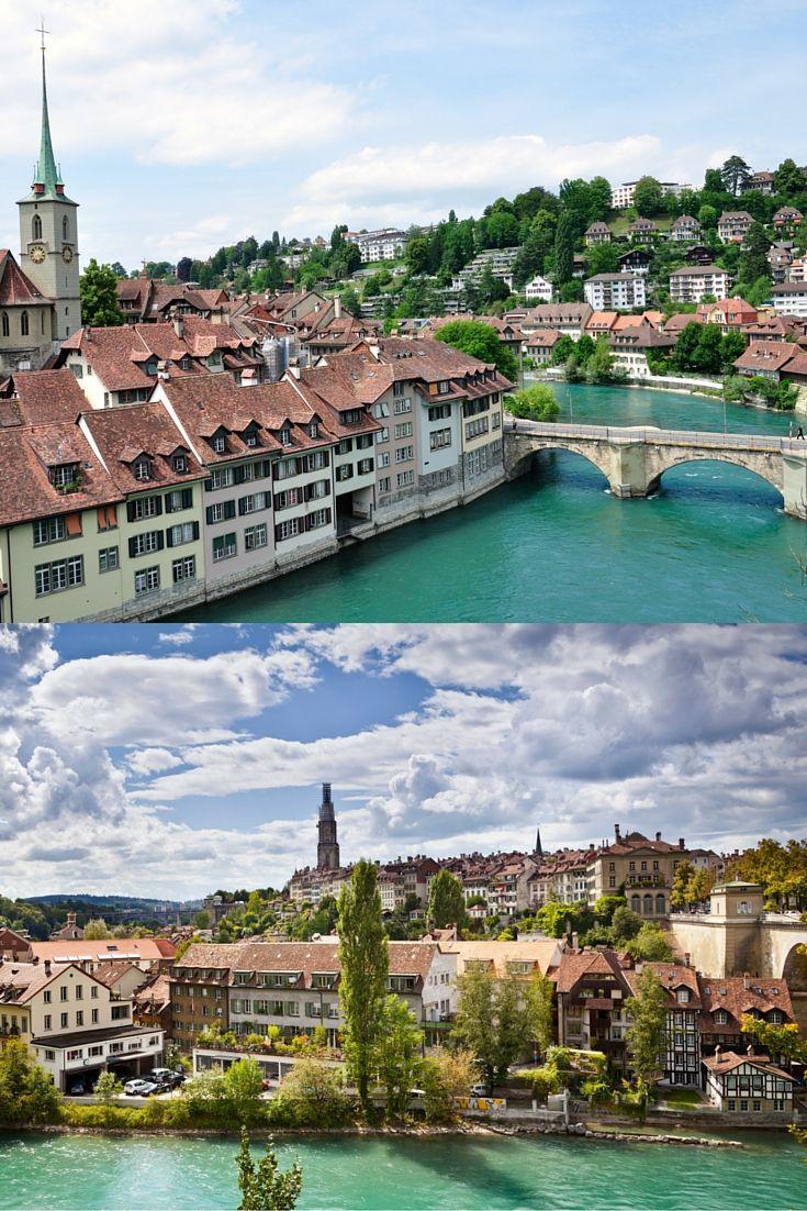 Berna é a capital da Suíça e seu histórico centro antigo é um Patrimônio Mundial da UNESCO.