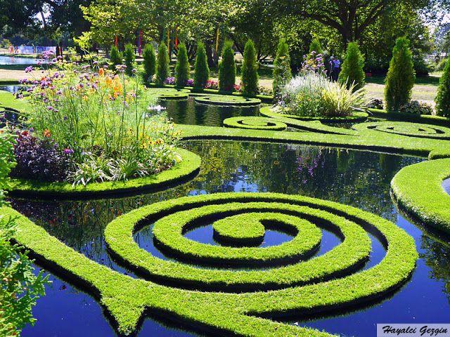 Yeni Zelandada Muhteşem Ekolojik Tasarım / Sunken Alcove Garden New Zealand - Hayalci Gezgin - Seyahat Rehberi / Travel Guide