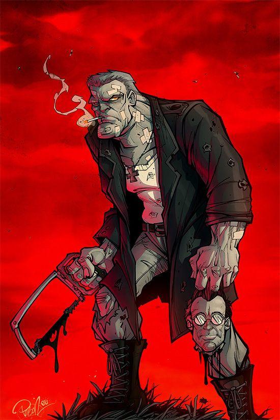 Comic Book Illustrations by Brett Parson