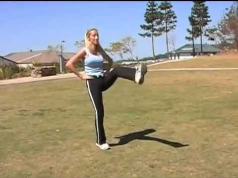 Yummy Mommy Cardio Boxing Working -- Personal Trainer, Mireille Ryan, takes you through a full cardio boxing workout.