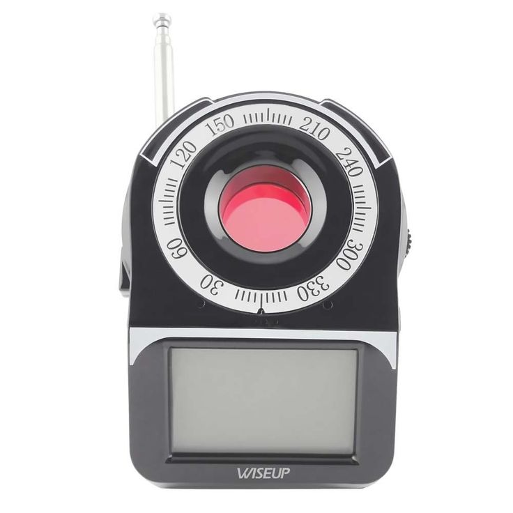 $60 Wiseup Wireless RF GSM Bug Detector Covert Pinhole Spy Camera Finder Anti Spy Detector with LCD Screen #anti-spy #detector