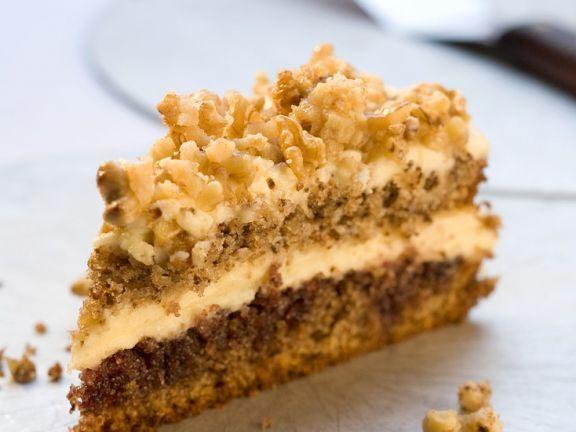 Cremig Walnusstorte ist ein Rezept mit frischen Zutaten aus der Kategorie Nusskuchen. Probieren Sie dieses und weitere Rezepte von EAT SMARTER!