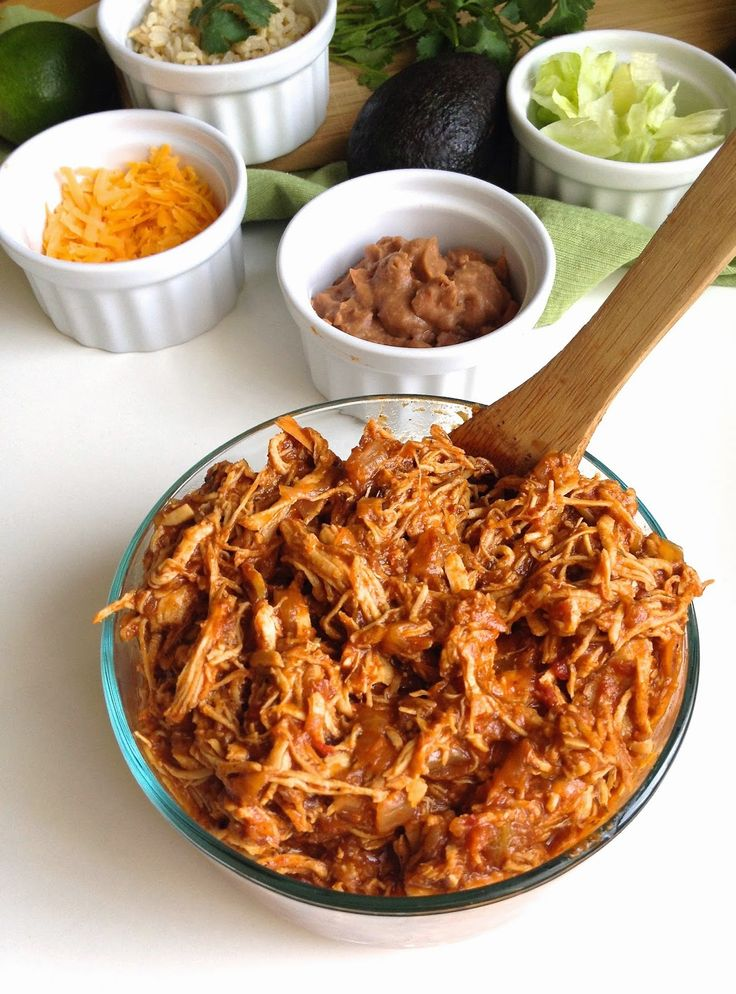 Lindsay Ann Bakes: Easy Mexican Shredded Chicken (perfect for burritos, tacos, nachos, soups and more!)