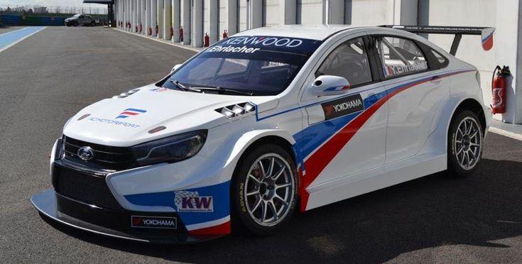 Гоночные Lada Vesta WTCC будут выступать под французским флагом