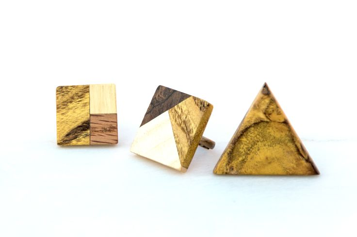 Handmade Rings made from Yellow Wood, Poplar, Walnut Bark and Oak by giodim