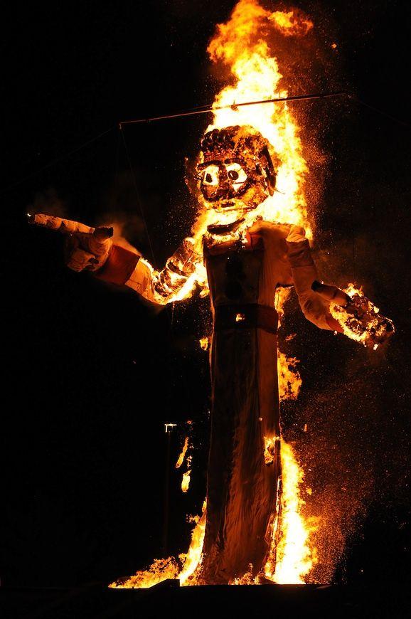 Burning of Zozobra, Santa Fe, New Mexico September