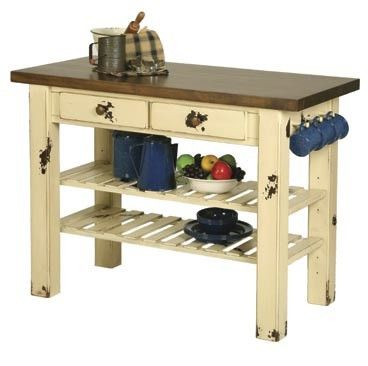 Kitchen Work Table. 104 best Kitchen island images on Pinterest