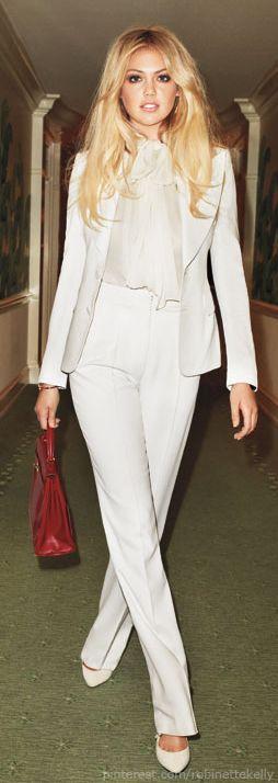 """my mom got married in pants.""  Kate Upton | Harper's Bazaar.  @Ann Flanigan Flanigan Flanigan Flanigan Flanigan Flanigan Marie Schott"