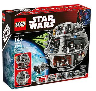 LEGO Complete Sets and Packs 19006: Lego Star Wars Death Star 2008 (10188) - New Mib -> BUY IT NOW ONLY: $399.95 on eBay!