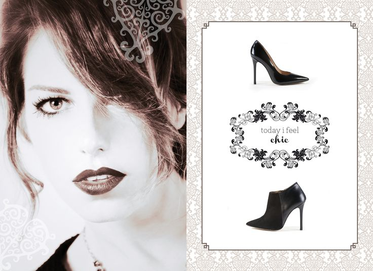"""Alberto #Bressan Shoes  AW 2013/14 Communication Campaign """"today i feel CHIC"""" #brochure"""