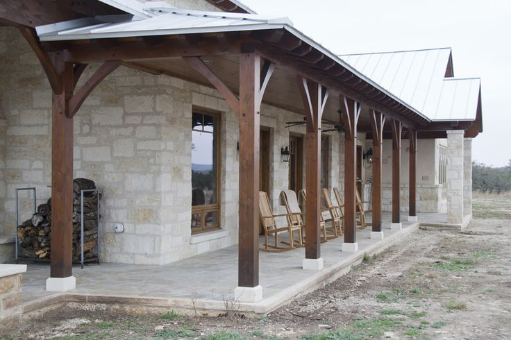 Texas Timber Frames | Residential Hybrid Hill Country Gallery