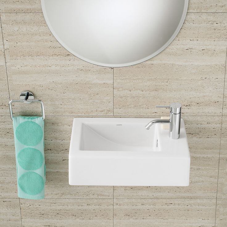 Shop The Caroma Liano Hand Wall Basin, Australia Wide At The Blue Space.  Wide Range Of Caroma Small Wall Hung Basins Online