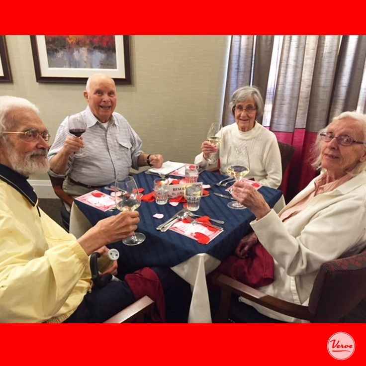 Love was celebrated by all of our residents at Four Elms Retirement Residence.