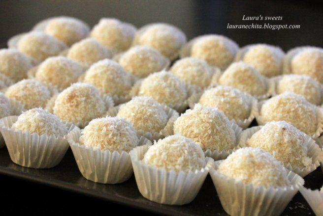 Retete Culinare - Raffaello de casa cu lichior de cocos