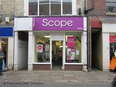 Scope Charity Shop. 25, Baxtergate, Whitby.