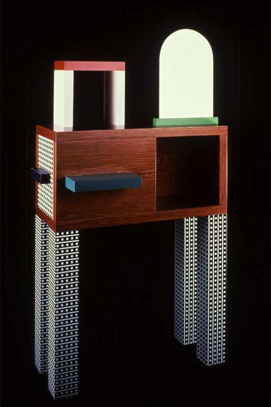 Natalie du Pasquier   design  1985 - Memphis
