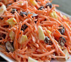 σταφίδες και καρότα για να φτιάξεις μια διαφορετική, δροσερή σαλάτα που ταιριάζει με πολλά φαγητά και είναι από τα πιάτα που...