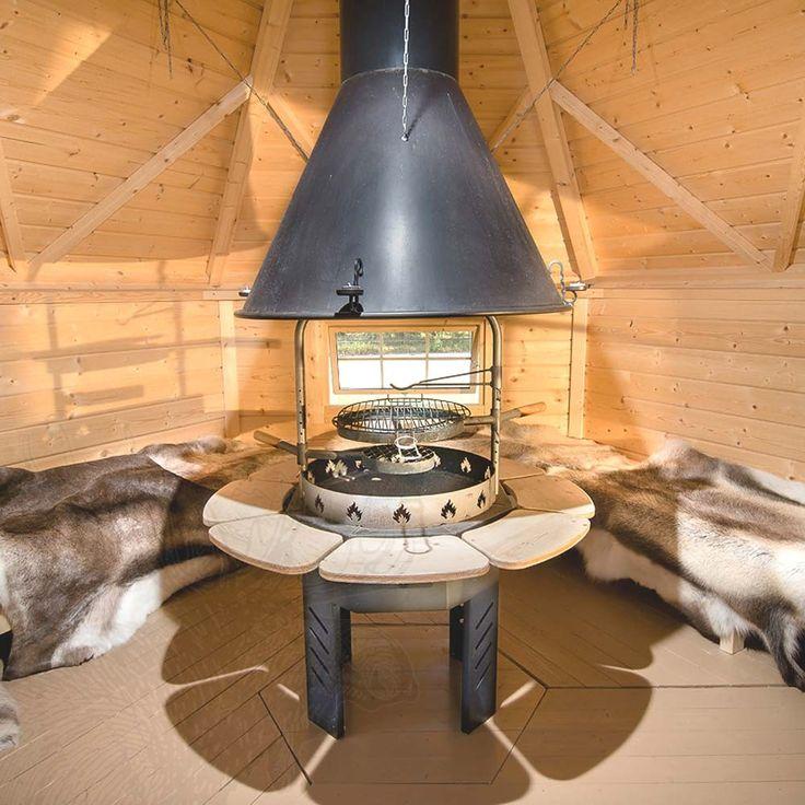 Epic Nordic SPA Grillkota m mit angebauter Sauna Ihr Versandhandel f r Badefass