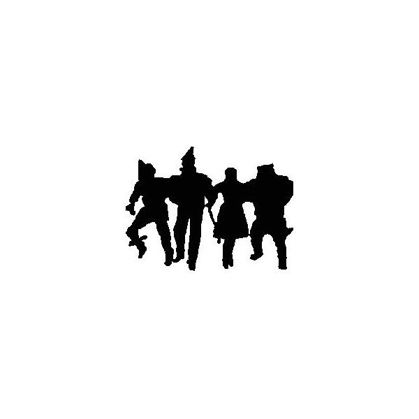 The Wizard of Oz silhouette