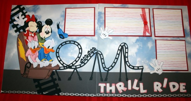 gang thrill ride layout