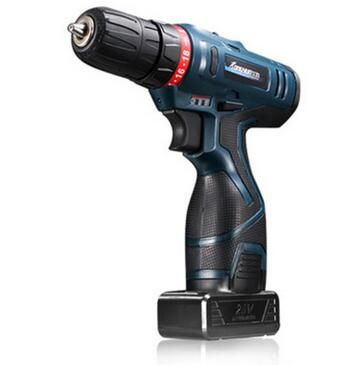 12V Li-Ion Cordless Electric Hammer Drill Driver Hand Kit 2 Speed Adjustable LED