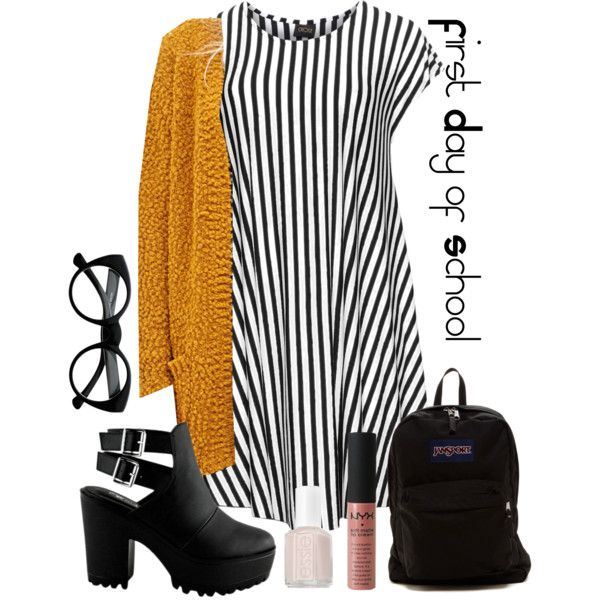 Back to School Outfit: College by d-tills
