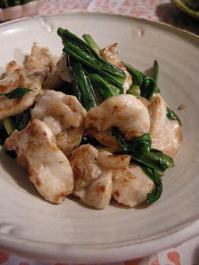 鶏胸肉と行者にんにくの炒めもの by fabさん | レシピブログ - 料理 ...