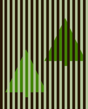 Christmas Tree Color Illusion - http://www.moillusions.com/christmas-tree-color-illusion/