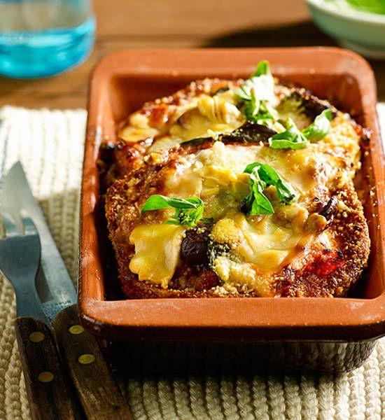 Eggplant parmigiana recipe - Better Homes and Gardens - Yahoo!7