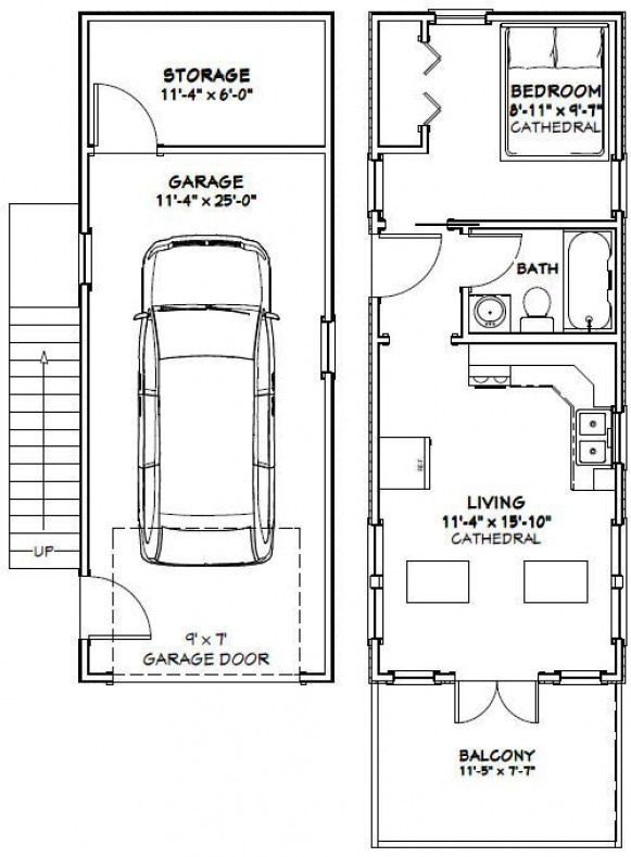 12x32 1 Bedroom Tiny Houses Pdf Floorplans By Excellentfloorplans Howtobuildashed In 2020 How To Plan Floor Plans Tiny House Plans