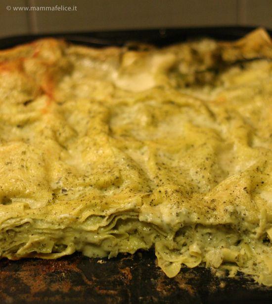 lasagne con crema di broccoli by mammafelice