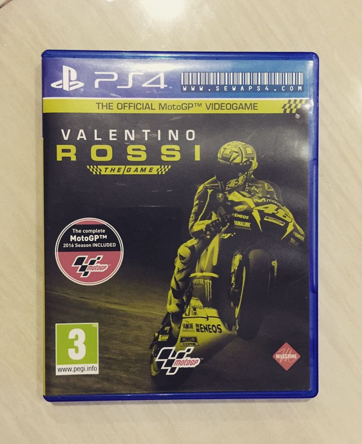 Valentino Rossi The Game by sewaps4.com  its a new experience.. and its awesome 😊 #forzavale46 #ps4harian #ps3harian #sewaps4 #sewaps3 #rentalps4
