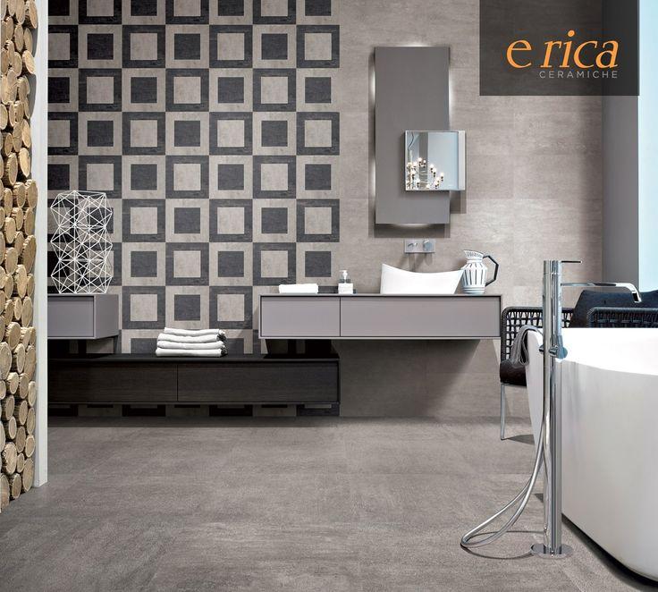Il cemento con Emilceramica Group diventa un prezioso elemento di arredo, ricco di dettagli e nuances. Vieni a trovarci presso il nostro showroom, ma prima visita il nostro sito: www.ericacasa.it #ericacasa #arredamento