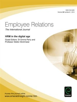 "Parry, Emma. ""HRM in the digital age"". Emerald, 2014. Location: Ebrary Electronic Book."