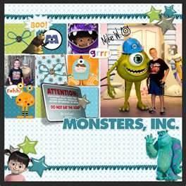 Hollywood Disney Scrapbook Layouts - Bing Images