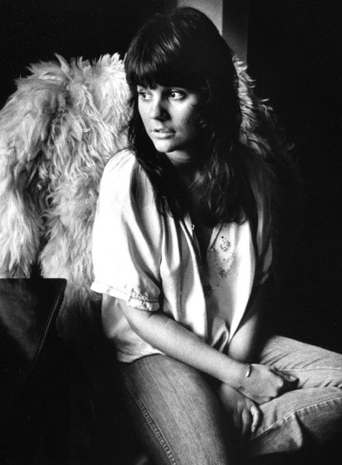Linda Ronstadt, an actual angel, London 1971, by Barrie Wentzell