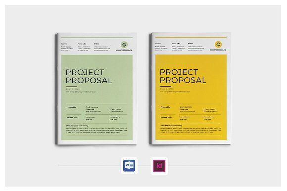 Project Proposal by Occy Design on @creativemarket #proposal #project #webdesign #portfolio